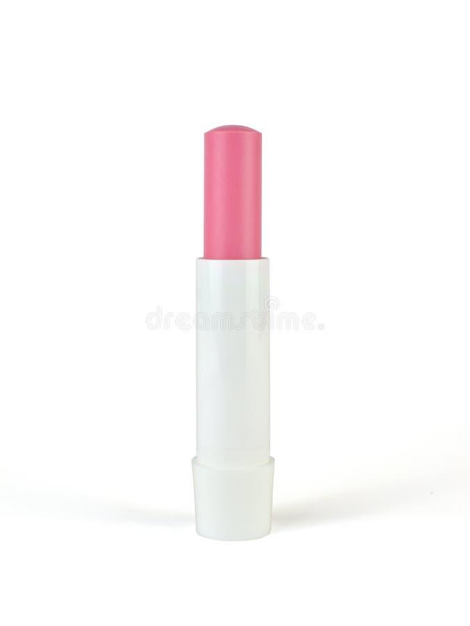 Balsamo di labbro rosa fotografia stock libera da diritti