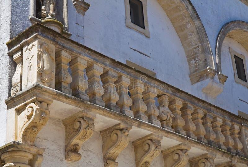 Balsamo-Palast. Specchia. Puglia. Italien. stockfotos