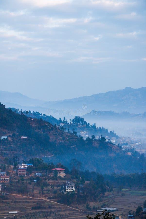 Balthali Nepal royaltyfri fotografi
