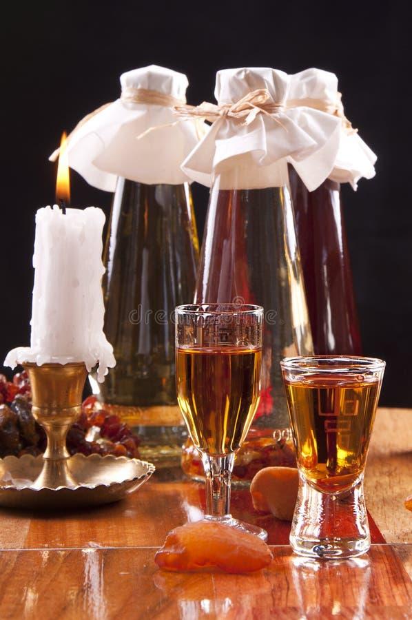 Baltic Amber Liqueur Stock Photos
