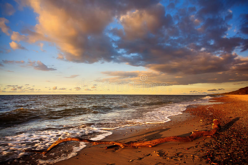 Download Baltic Beach stock photo. Image of polish, inspiring - 26630332