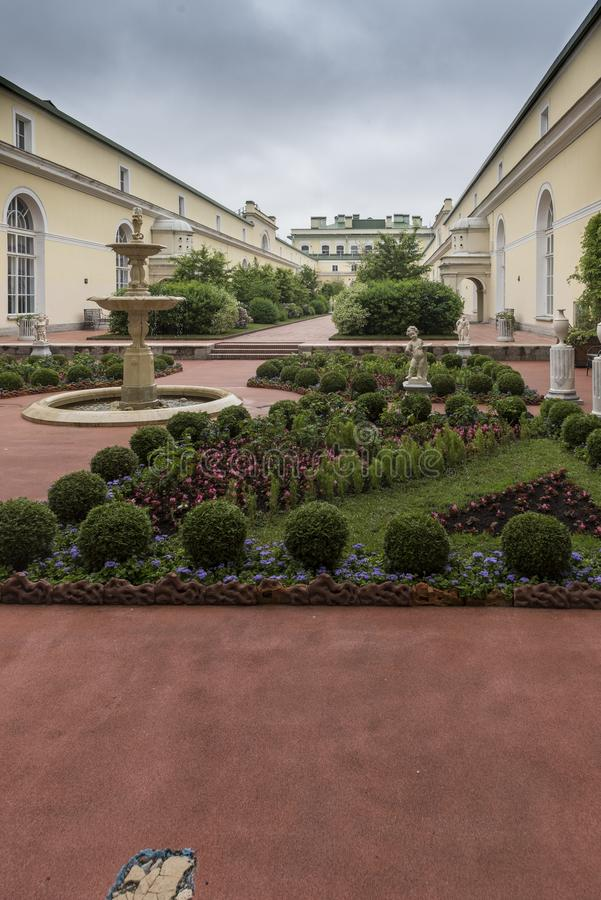 The Hanging Garden The Hermitage St Petersburg Russia. 