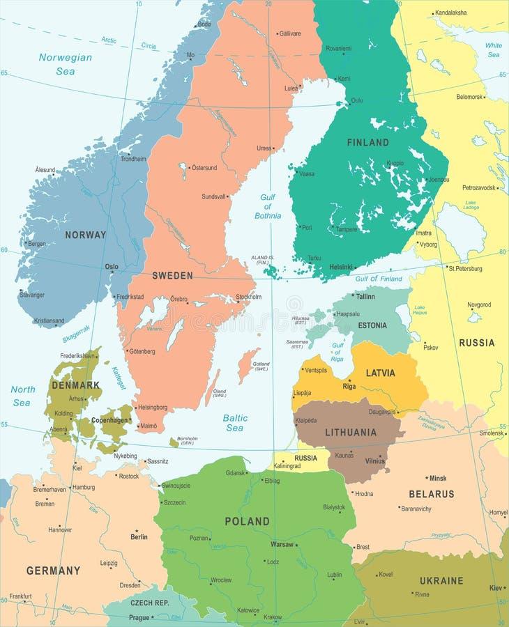 Baltic sea area map vector illustration stock illustration download baltic sea area map vector illustration stock illustration illustration of baltic locations publicscrutiny Choice Image