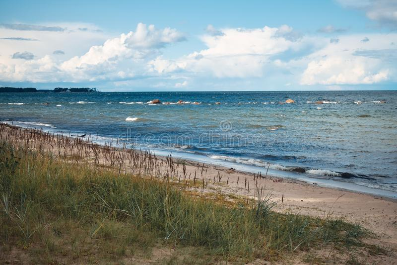 Baltic Sea and Coastline, Estonia stock images