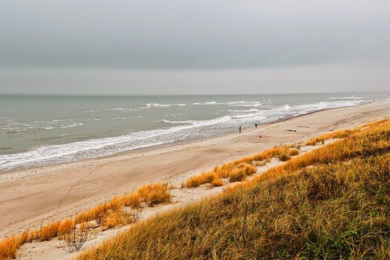 Baltic sea. In Kaliningrad Russia stock photography