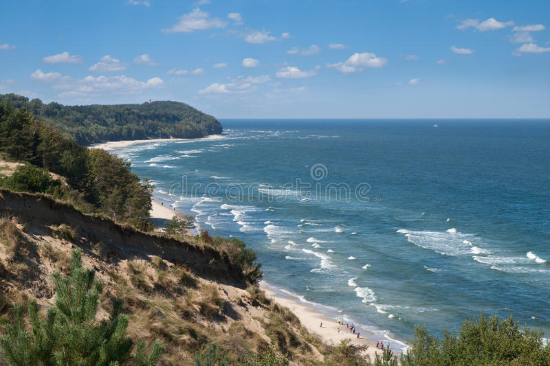 Baltic sea view royalty free stock photo