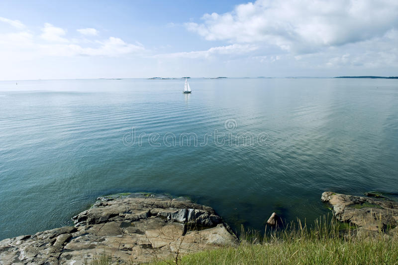 Download Baltic sea view stock image. Image of open, landscape - 25408543