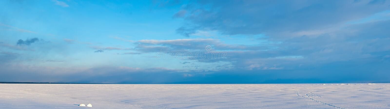 Download Baltic sea in the winter stock image. Image of terrain - 18717221
