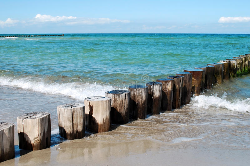 Baltic sea zingst royalty free stock images