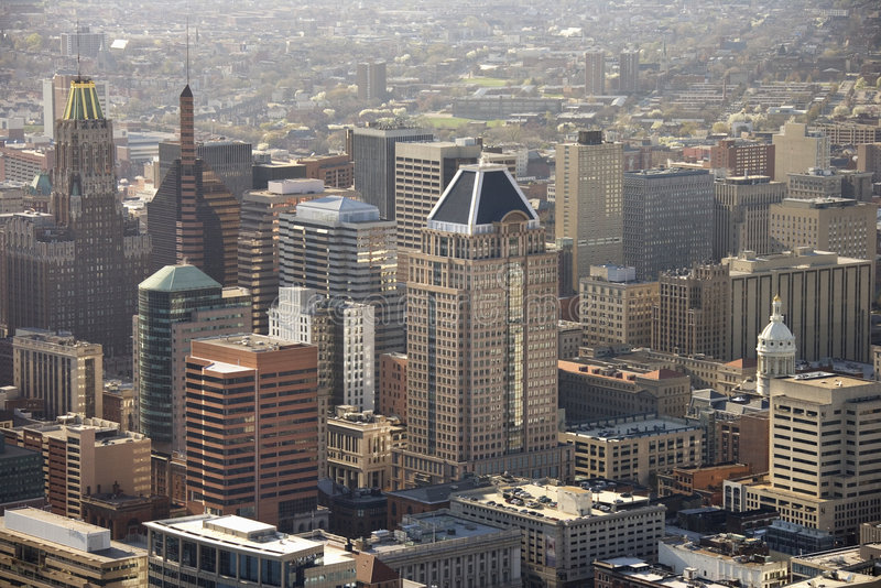 Baltimora, Maryland. immagini stock