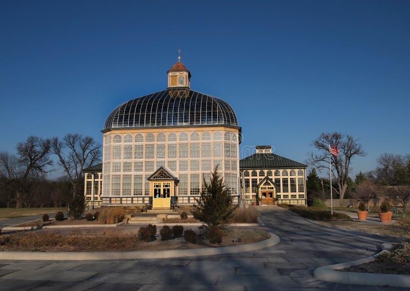 Baltimore botanisk drivhus royaltyfri foto