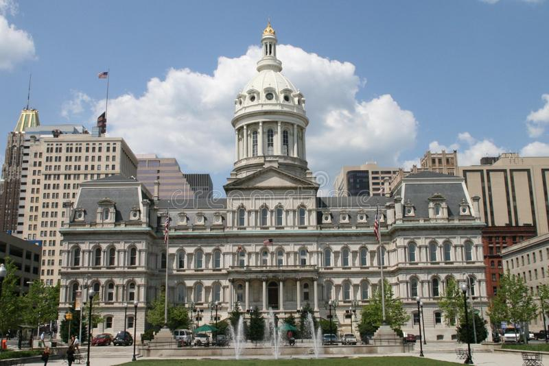 Baltimore City Hall stock images