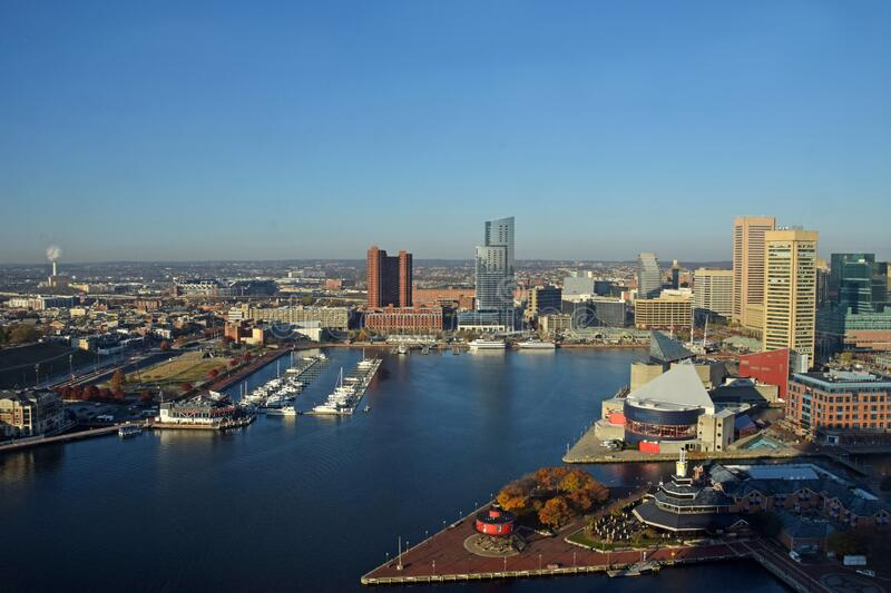 Baltimore Inner Harbor royalty free stock images
