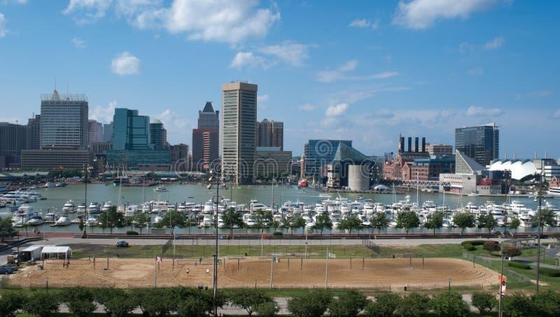 Baltimore-innerer Hafen lizenzfreie stockfotos