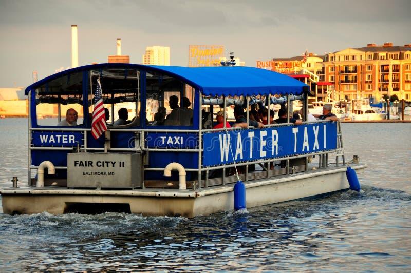 Baltimore, M.D.: Eerlijke Stad II Watertaxi royalty-vrije stock foto