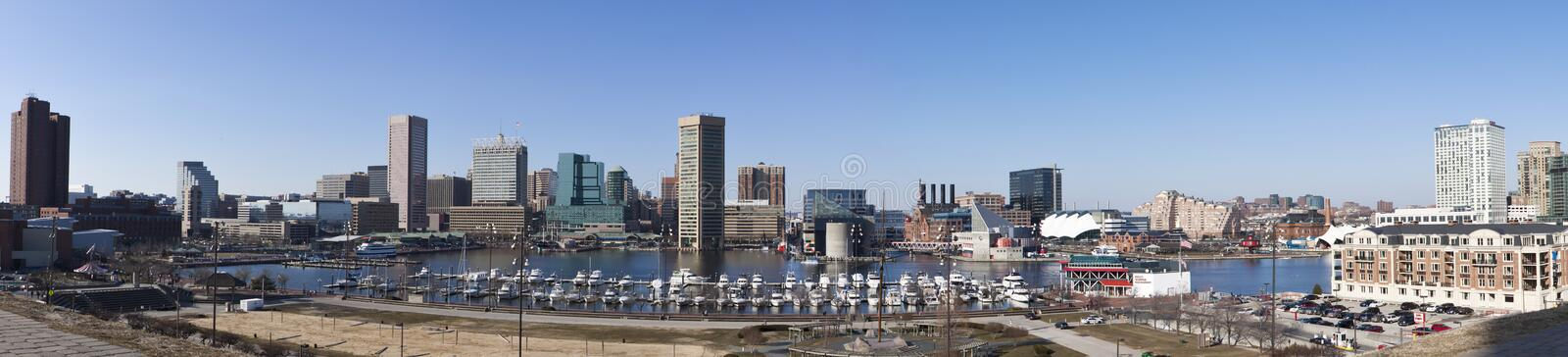 baltimore maryland royaltyfria bilder