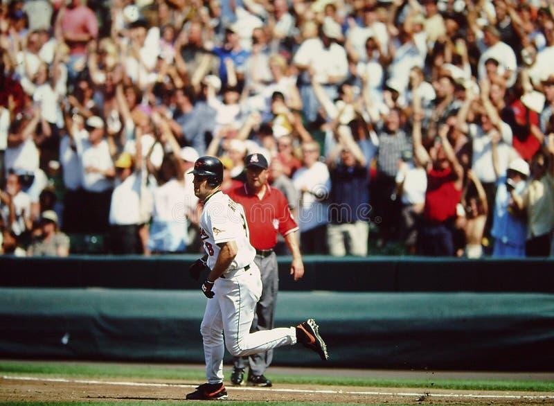 Baltimore Orioles do Jr. do Cal Ripken foto de stock royalty free