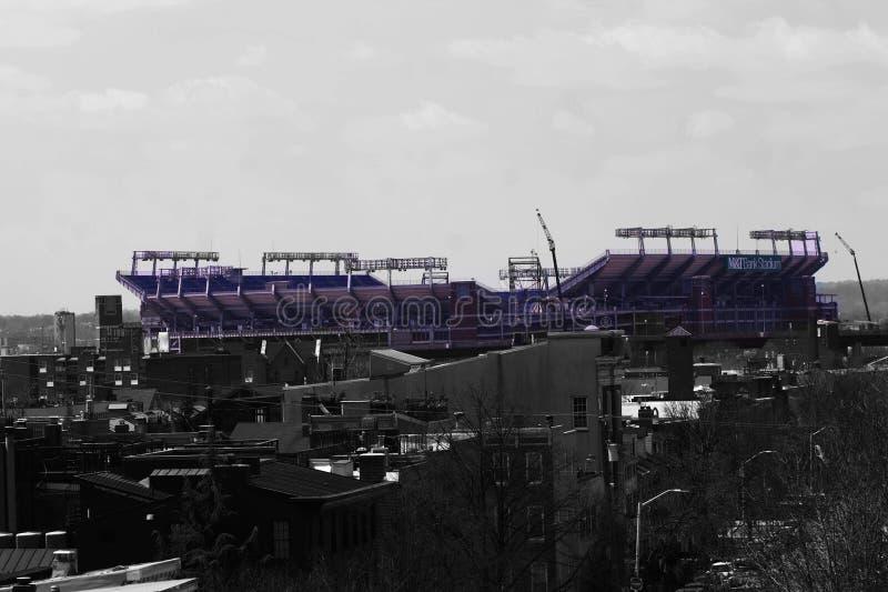 Baltimore ravens el estadio fotos de archivo