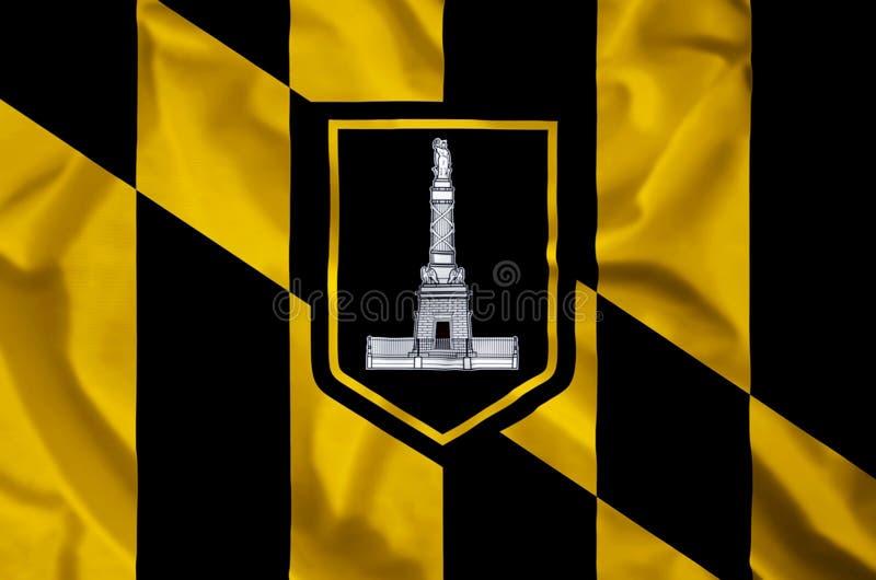 Baltimore-Stadt vektor abbildung