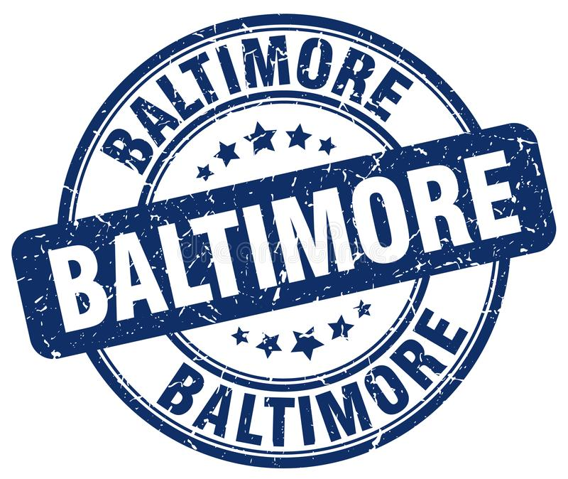 Baltimore-Stempel stock abbildung