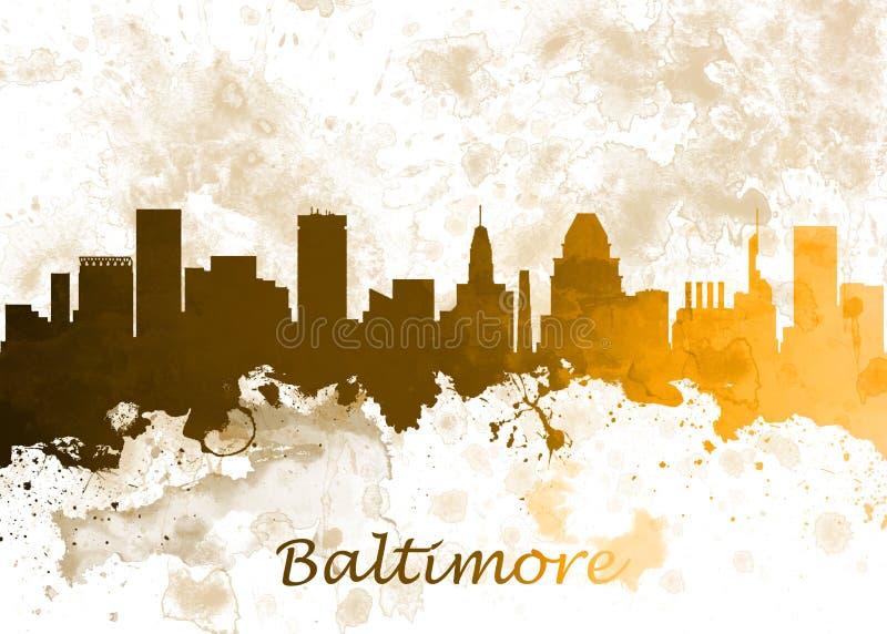 Baltimore usa ilustracja wektor