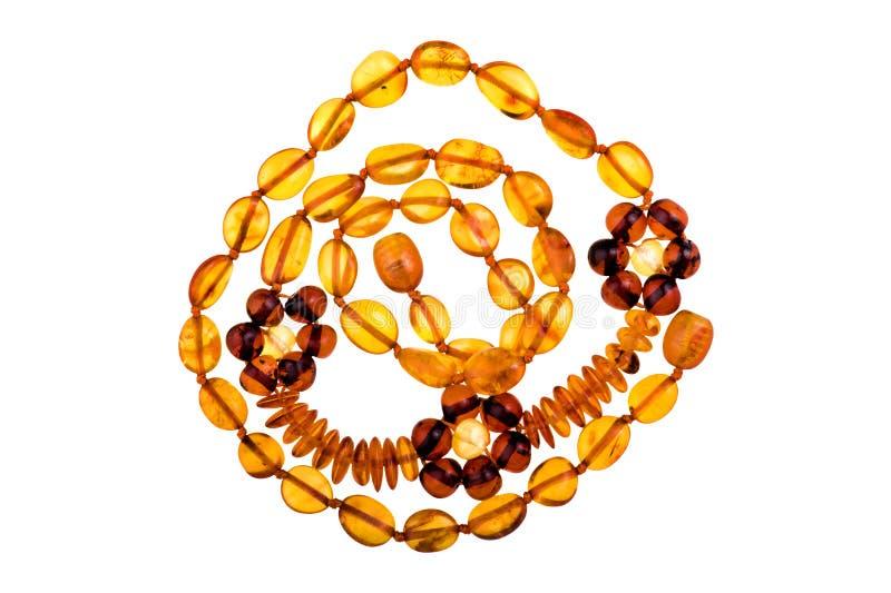 Baltische geïsoleerd amber stock foto's