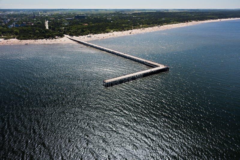 Baltische Küste stockfotos