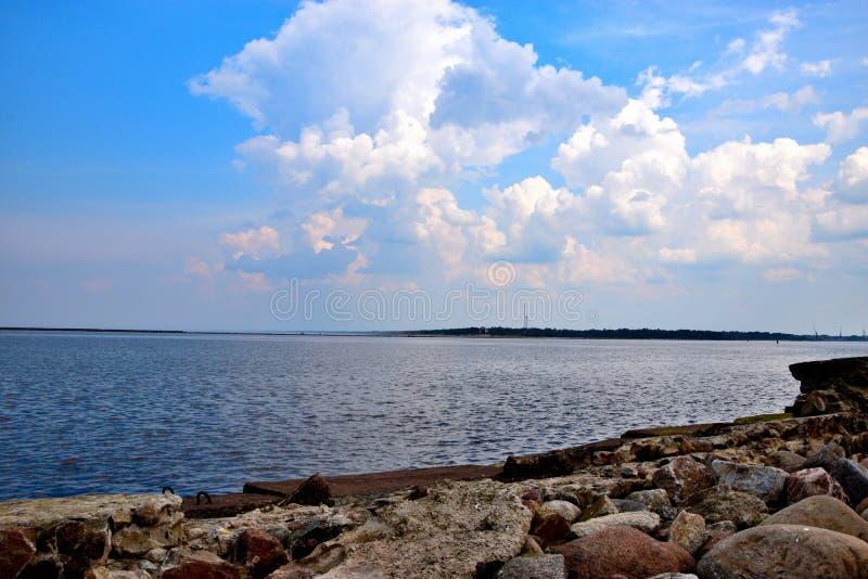 Baltische Pijler stock fotografie