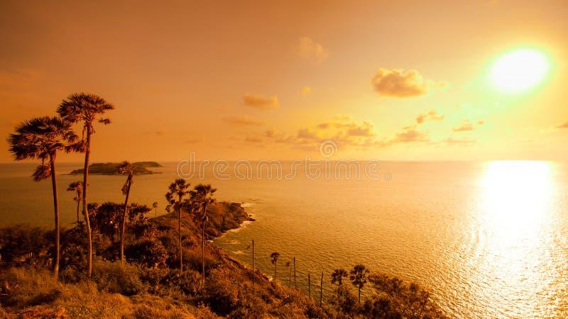 Balu Thep przylądek Best w Phuket południe Tajlandia fotografia stock