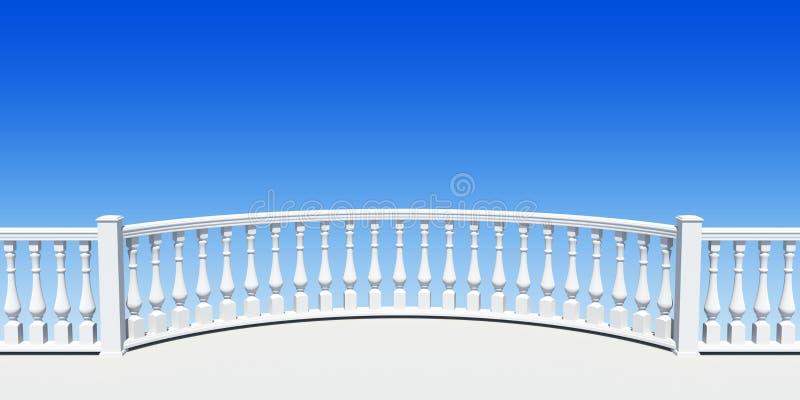 balustradowy półkole