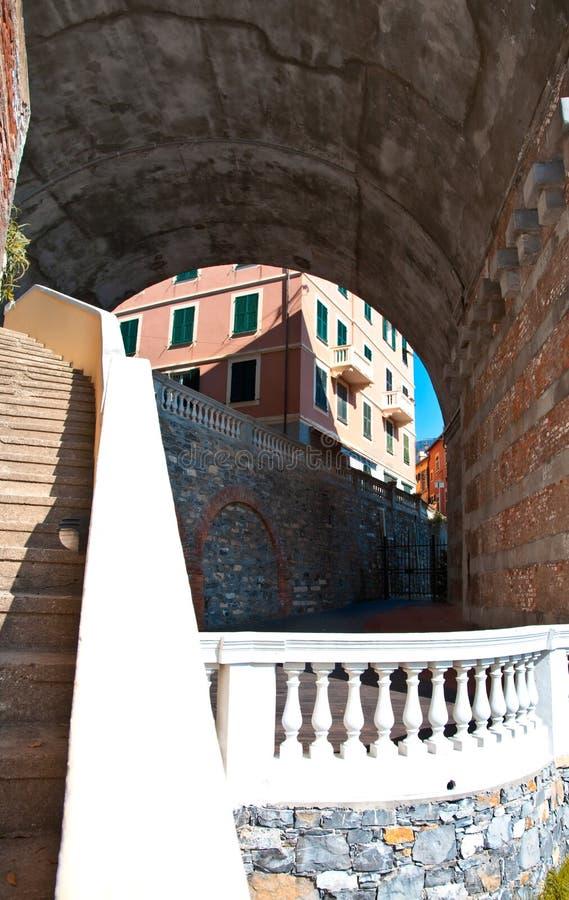 balustradowy wiadukt zdjęcie royalty free
