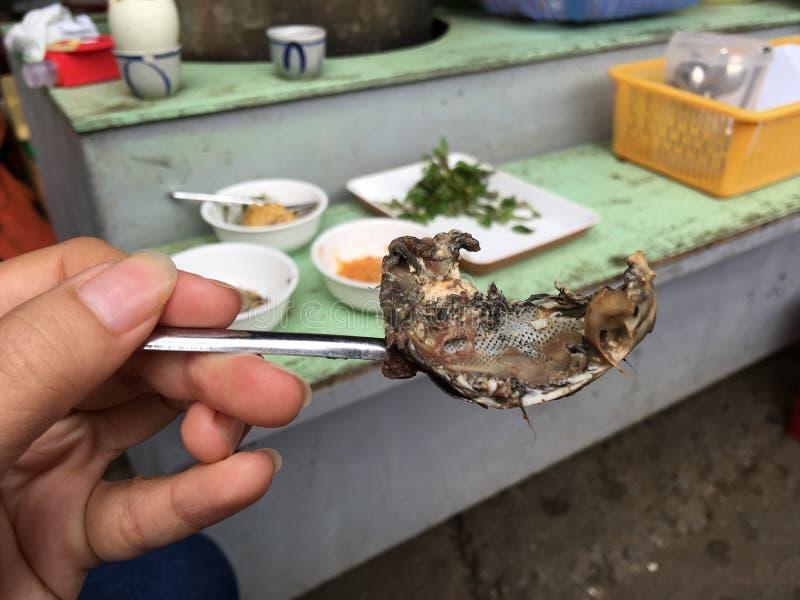 Balut (uovo fertilizzato dell'anatra) fotografia stock libera da diritti