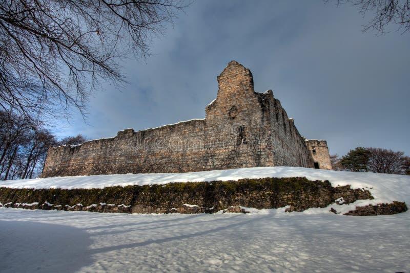 Balvenie Castle stock photography