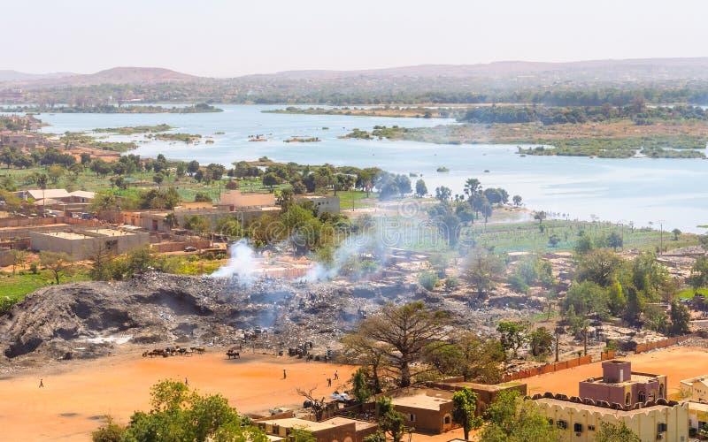 Bamako in Mali lizenzfreies stockfoto