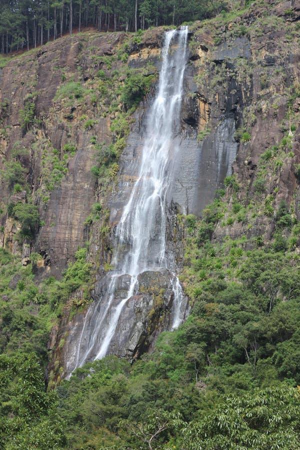 Bamarakandal Water fall- Sri Lanka royalty free stock photo