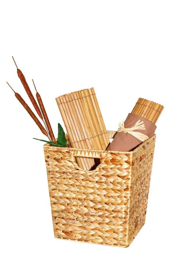 Bambù del rattan immagine stock libera da diritti