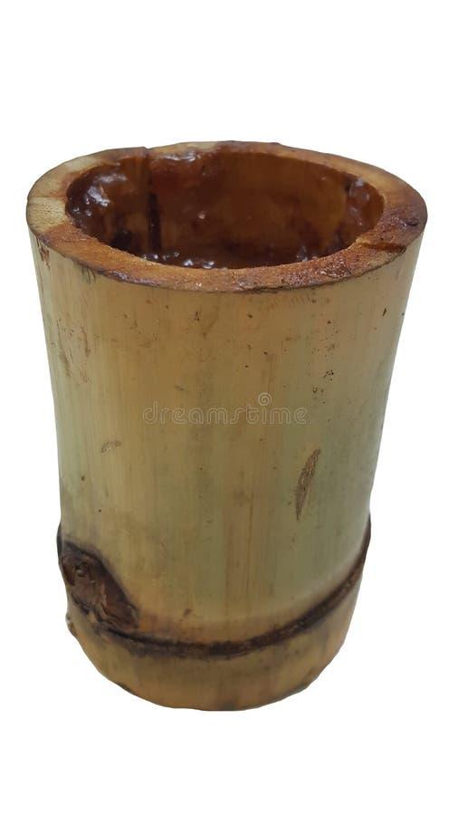 Bambù, fondo, struttura, isolata, bianco, marrone, giallo, Asia, legno, lerciume, albero, imballante, ramo, bevanda, tazza, organ immagine stock