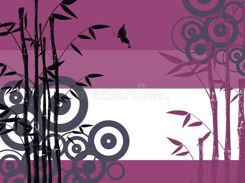 Bambú background02 ilustración del vector