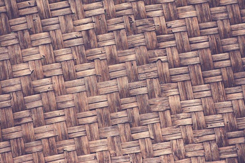 Bambú natural de la textura de la armadura de la artesanía fotos de archivo