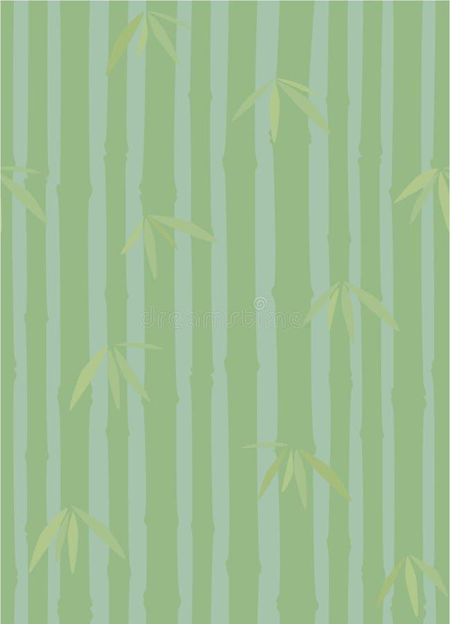 Bambú sutil stock de ilustración