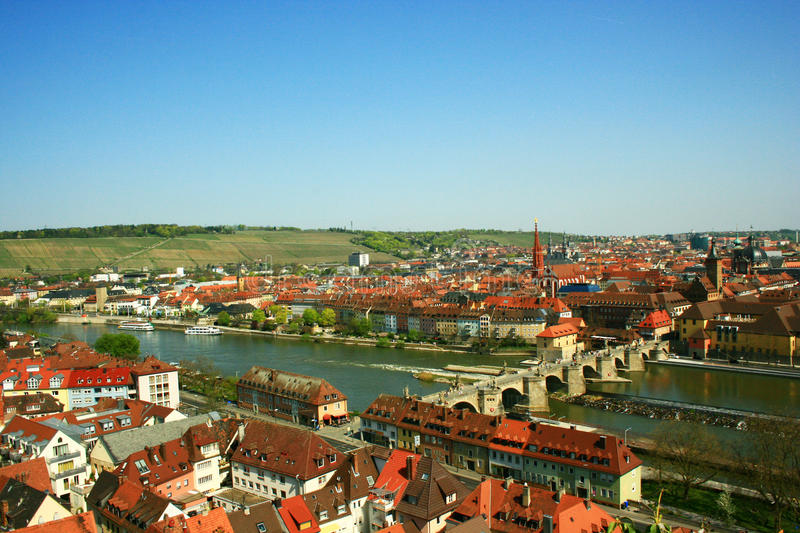 Bamberg City Panorama Royalty Free Stock Photos