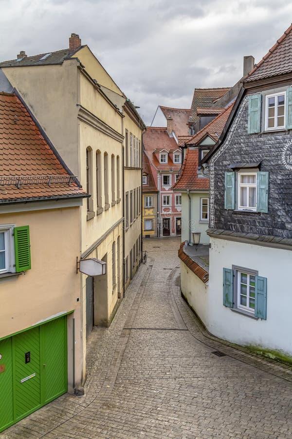 Bamberg dans Franconia supérieur image libre de droits