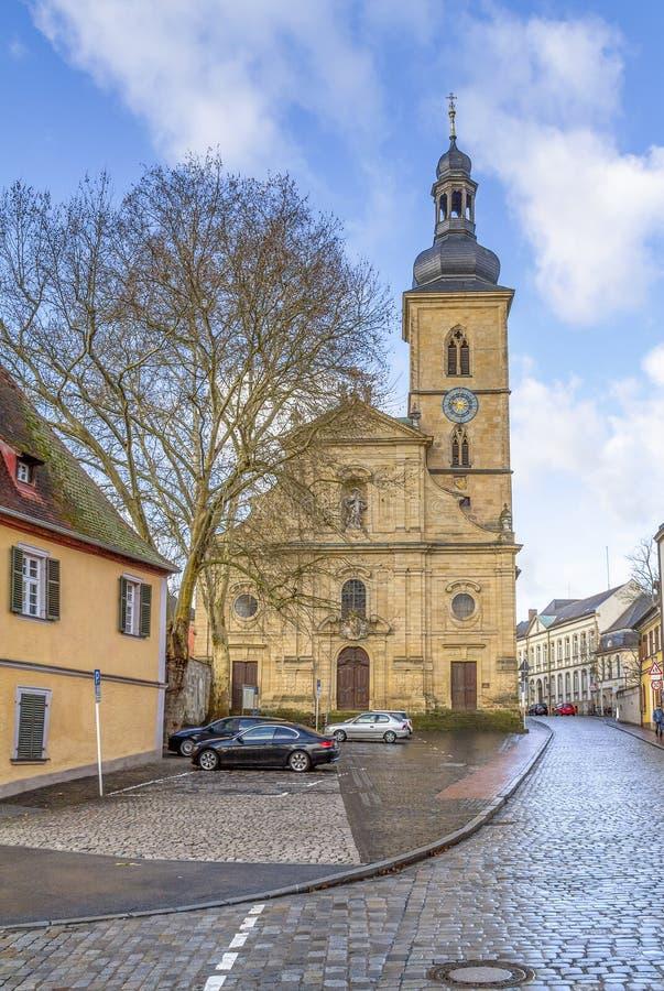 Bamberg dans Franconia supérieur photos libres de droits
