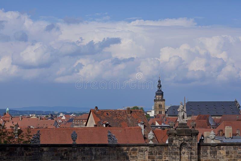 Bamberg, Deutschland stockbild