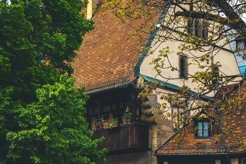 Bamberg domu niemiec fotografia royalty free