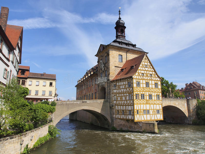 Bamberg - historical city in germany royalty free stock photography