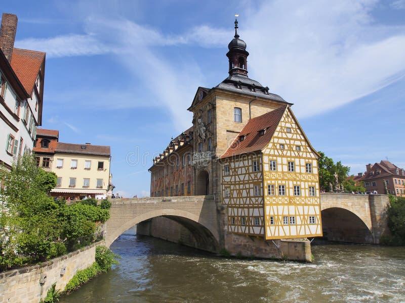 Bamberg - historische stad in Duitsland royalty-vrije stock fotografie