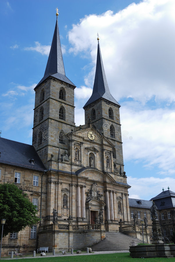 bamberg michaelsberg monaster zdjęcia stock