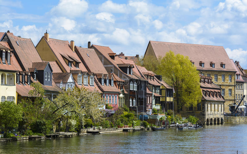Bamberg, old buildings architecture royalty free stock photography