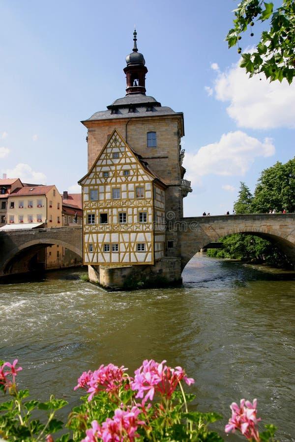 bamberg sali starego miasta. zdjęcia stock